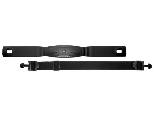 Ciclosport Zestaw do mierzenia tętna analogowy czarny